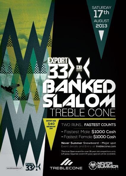 affiche snowboard event