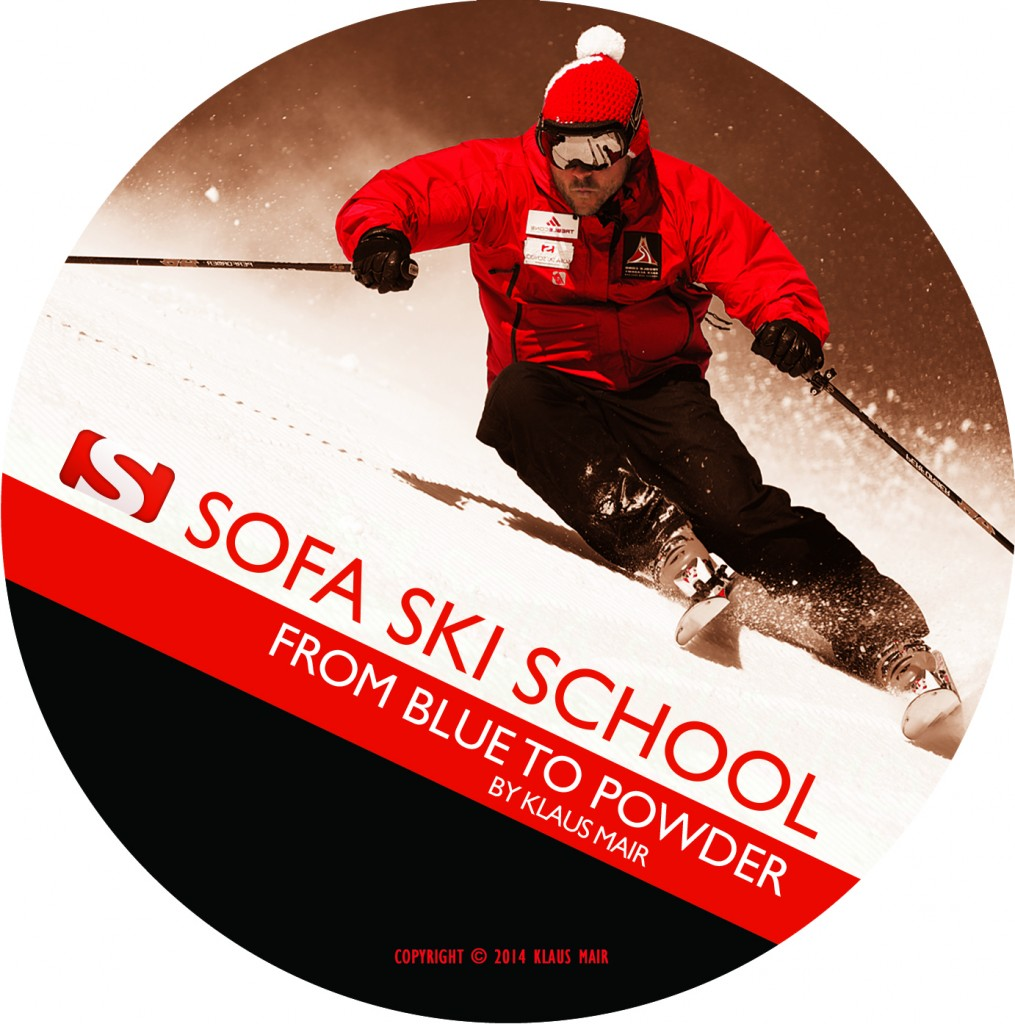 graphisme dvd ski rouge