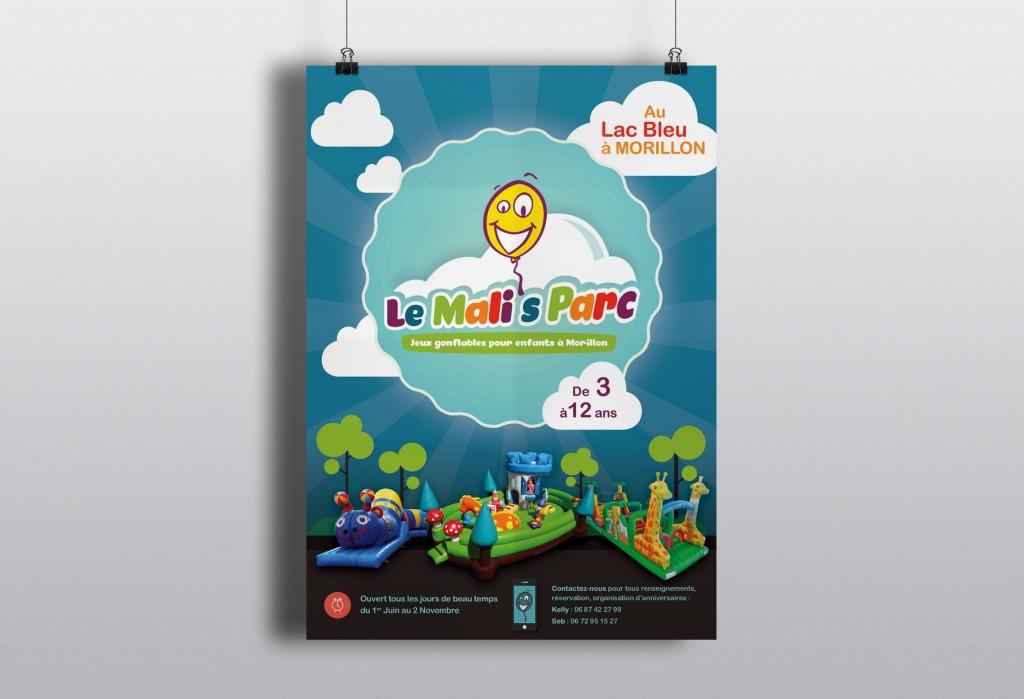Affiche jeux gonflables