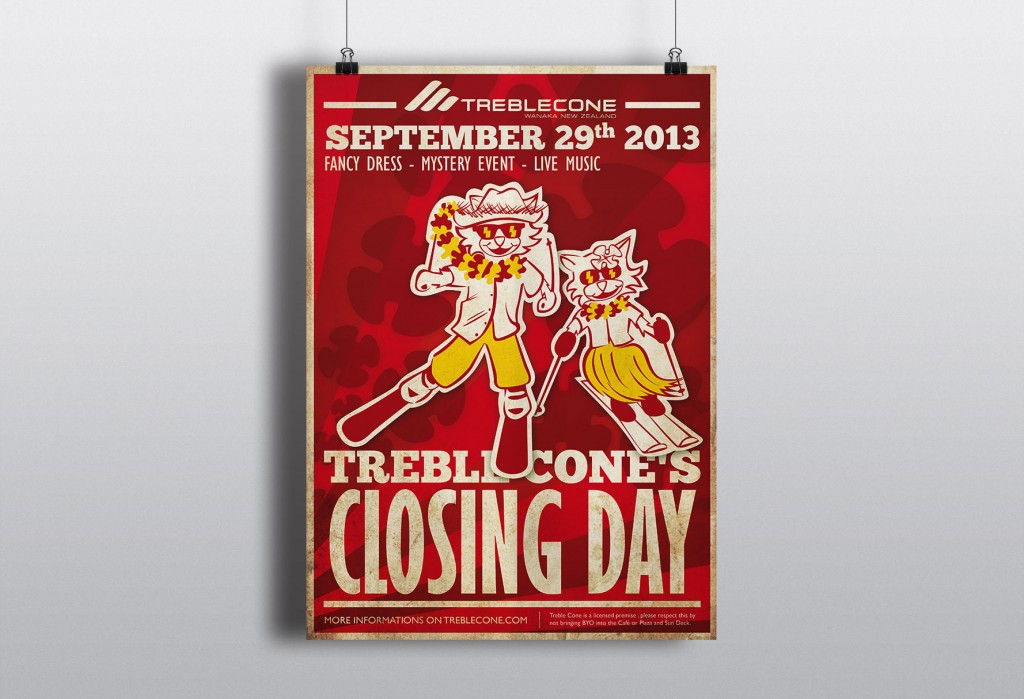 Treble Cone closing day Wanaka