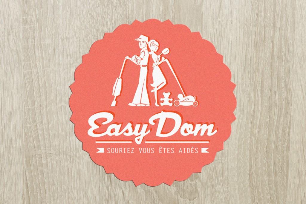 logo easydom service à la personne