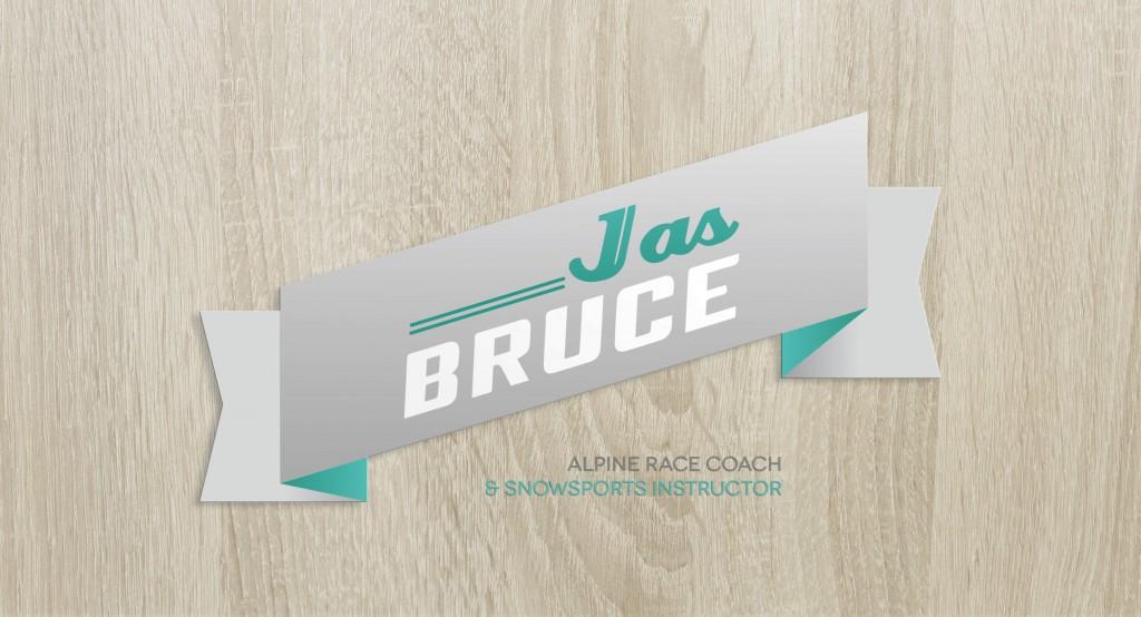 logo ski racer coach val d'isère