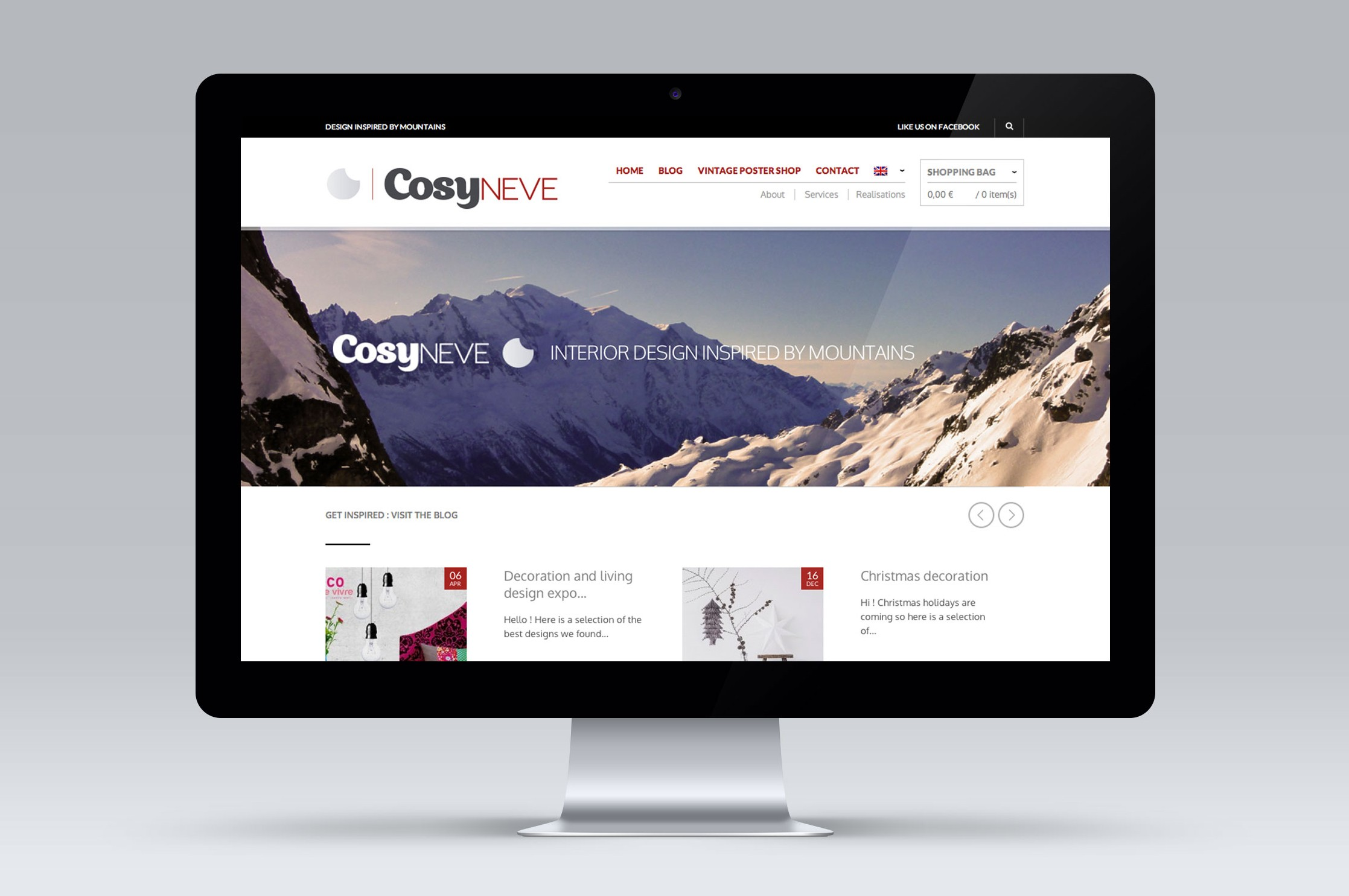 site vente en ligne cosyneve