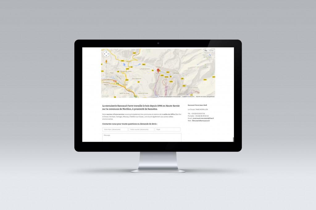 Contact map carpentery website