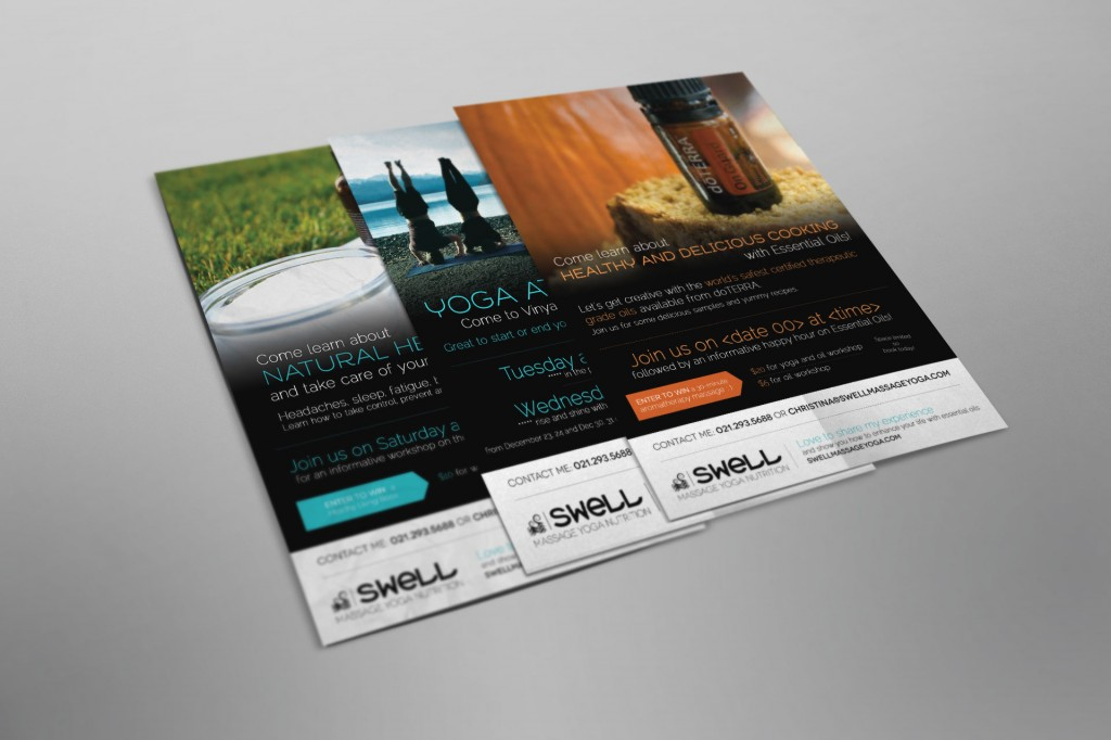 design affiche yoga nutrition