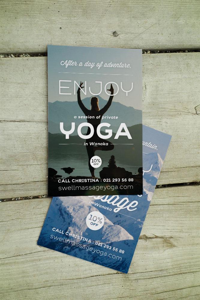 Carterie design yoga massage